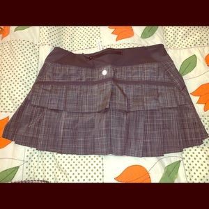 Lululemon skirt with shortie size 6